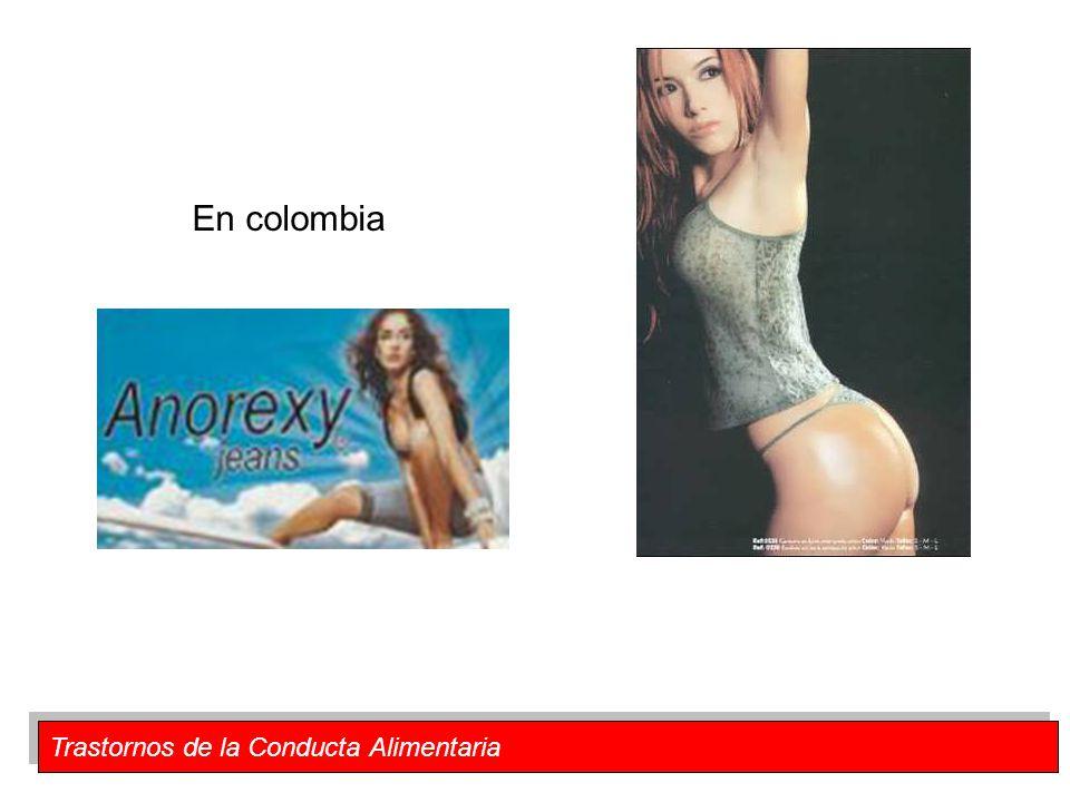Trastornos de la Conducta Alimentaria En colombia