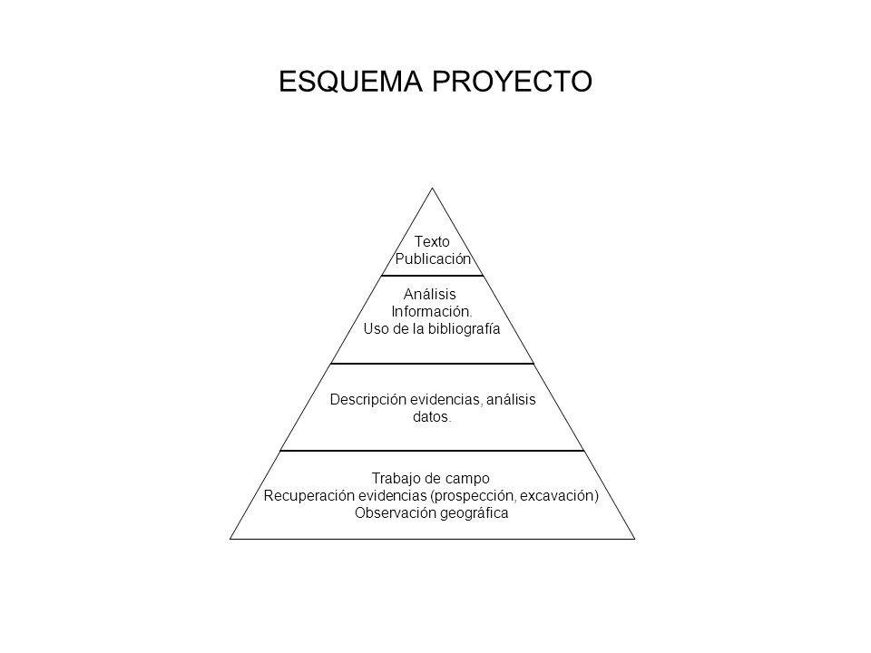 ESQUEMA PROYECTO Texto Publicación Análisis Información.