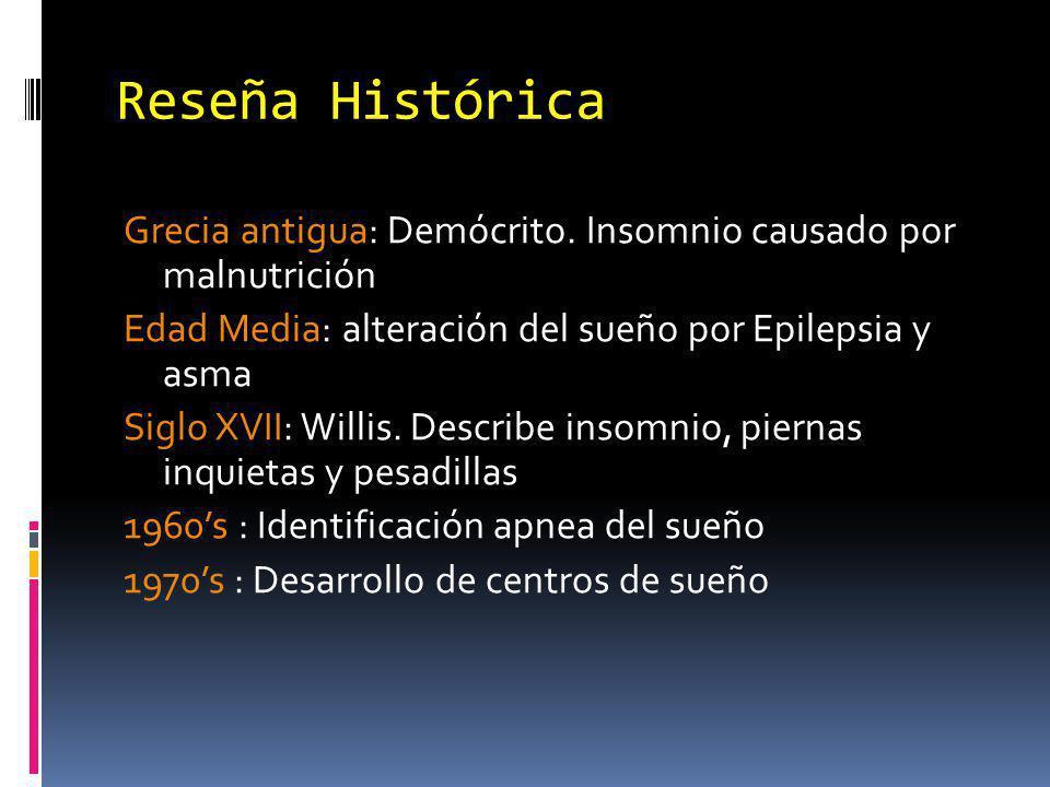 Fármacos e insomnio Hipnóticos Metales pesados L dopa Butirofenonas (SPI), fenotiacinas Tetraciclinas (pesadillas) Tabaco, AO, esteroides, tiroxina