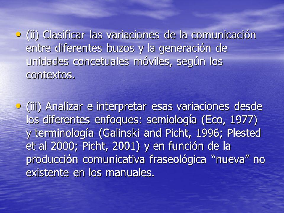 METODOLOGÍA La metodología está dividida en tres etapas: (i) Comparar los signos no verbales presentados por algunos manuales de buceo con los signos