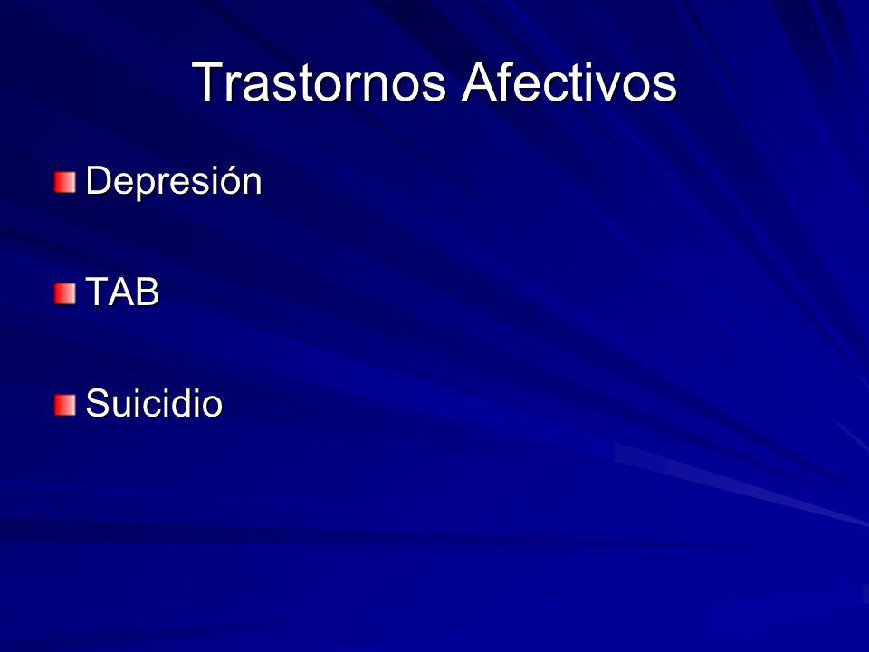 Trastornos Afectivos DepresiónTABSuicidio