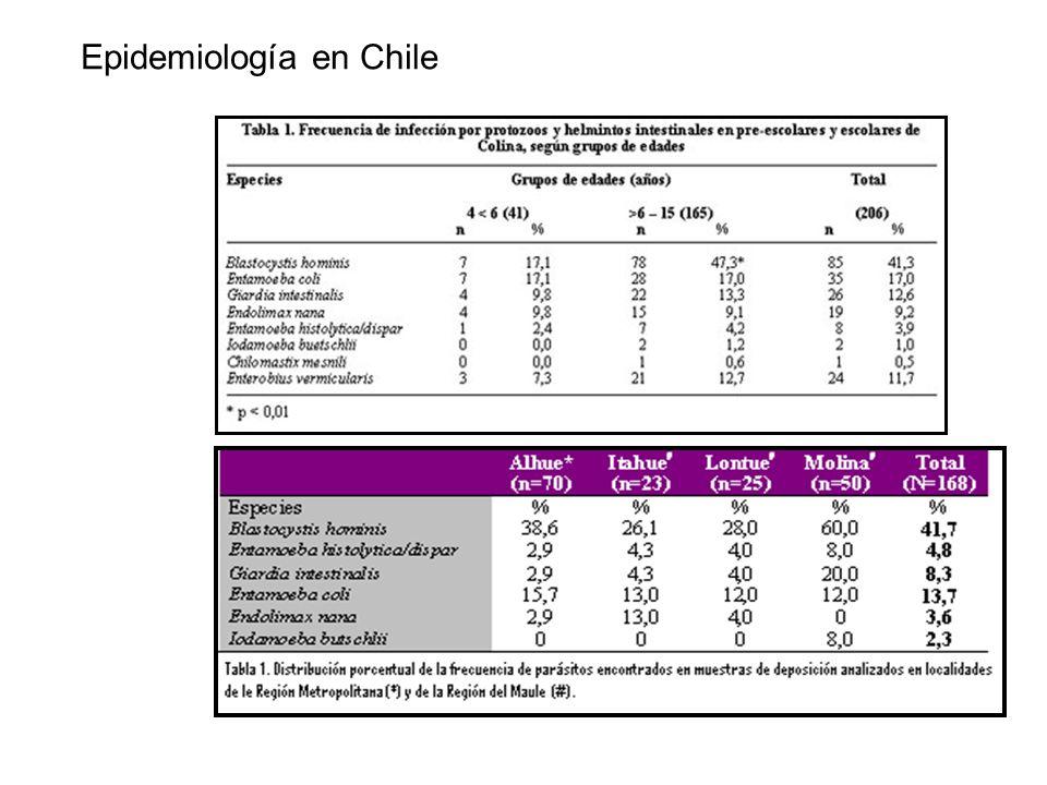 Epidemiología en Chile