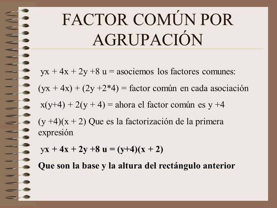 DIFERENCIA DE CUADRADOS Forme un rectángulo con las siguientes figuras: x*x - (9) Como es negativo tiene que estar encima de x*x Sumemos un 3x y restemos un 3x, de manera que sumamos un cero