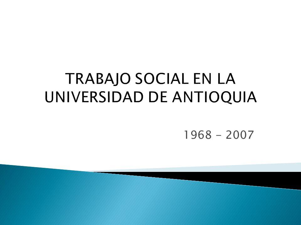 1968 - 2007