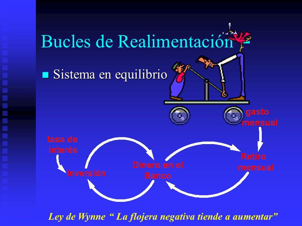 Bucles de Realimentación + Sistema de realimentación positivo efecto bola de nieve