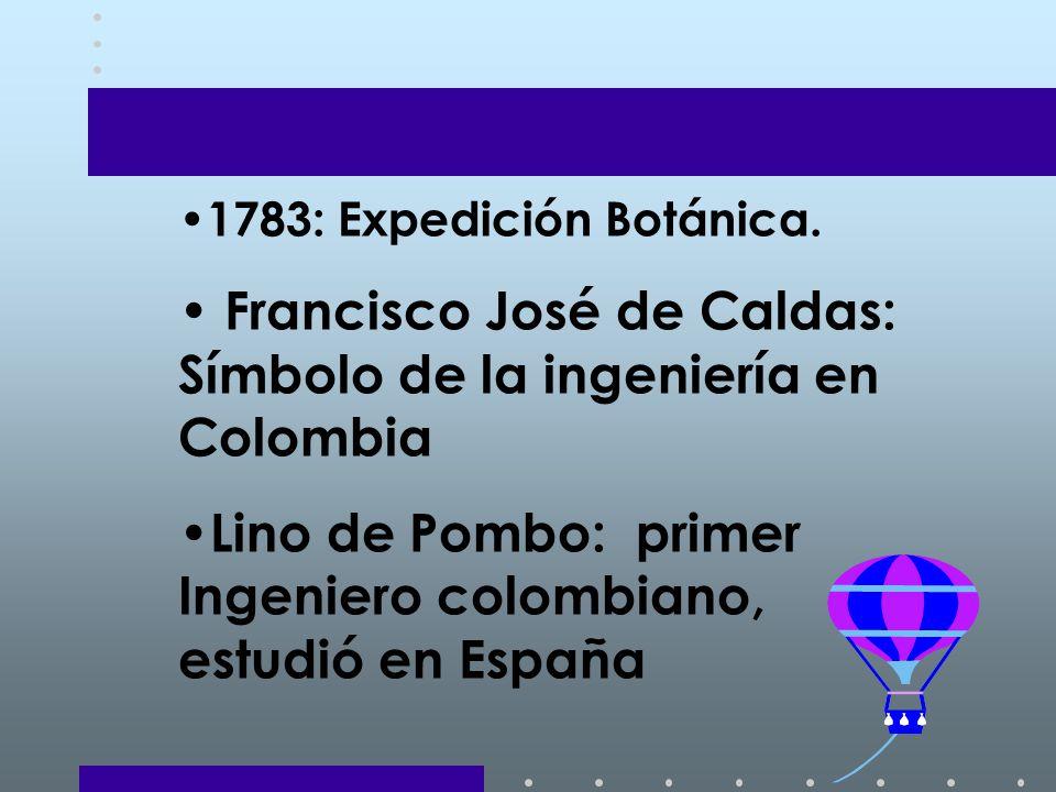 1783: Expedición Botánica.