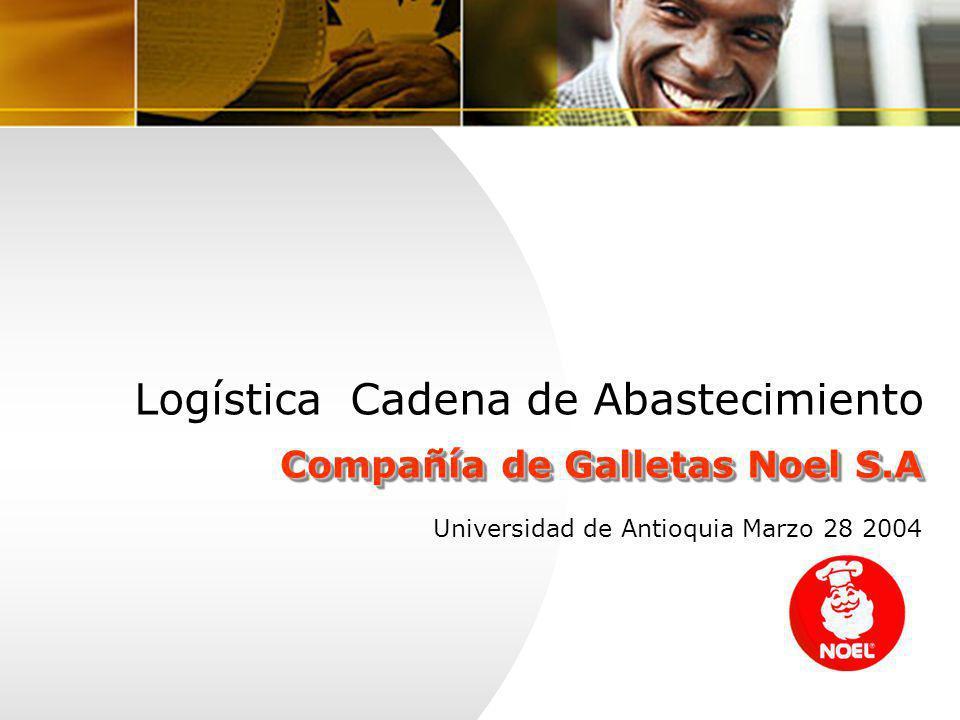 Logística Cadena de Abastecimiento Compañía de Galletas Noel S.A Universidad de Antioquia Marzo 28 2004