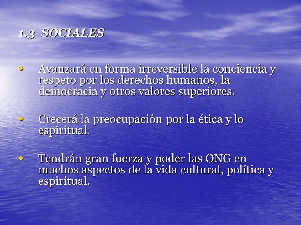 III ESCENARIOS DE LA INGENIERÍA INDUSTRIAL EN COLOMBIA EN UN CONTEXTO MUNDIAL: 2000-2005 1.