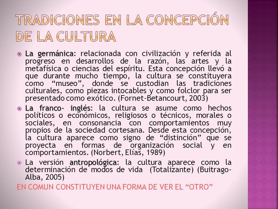 Las comprensiones de lo cultural en la planeación http://palabrasvanyvienen.wordpress.com/category/entrevista/page/2/
