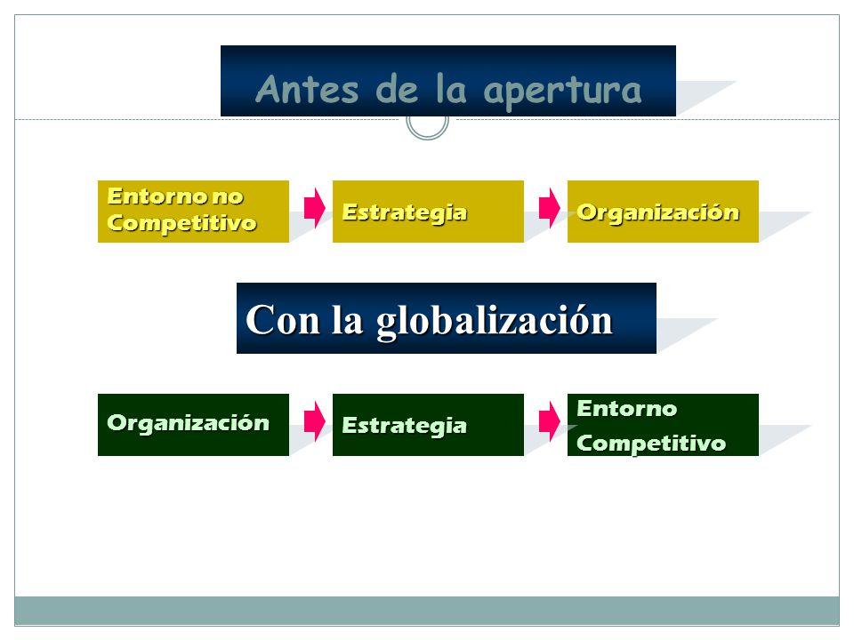 JUSTIFICACION TEORICO-METODOLOGICA Mundo actual caracterizado por Competitividad-Globalización. Innovación científica-cambio permanente. Organizacione