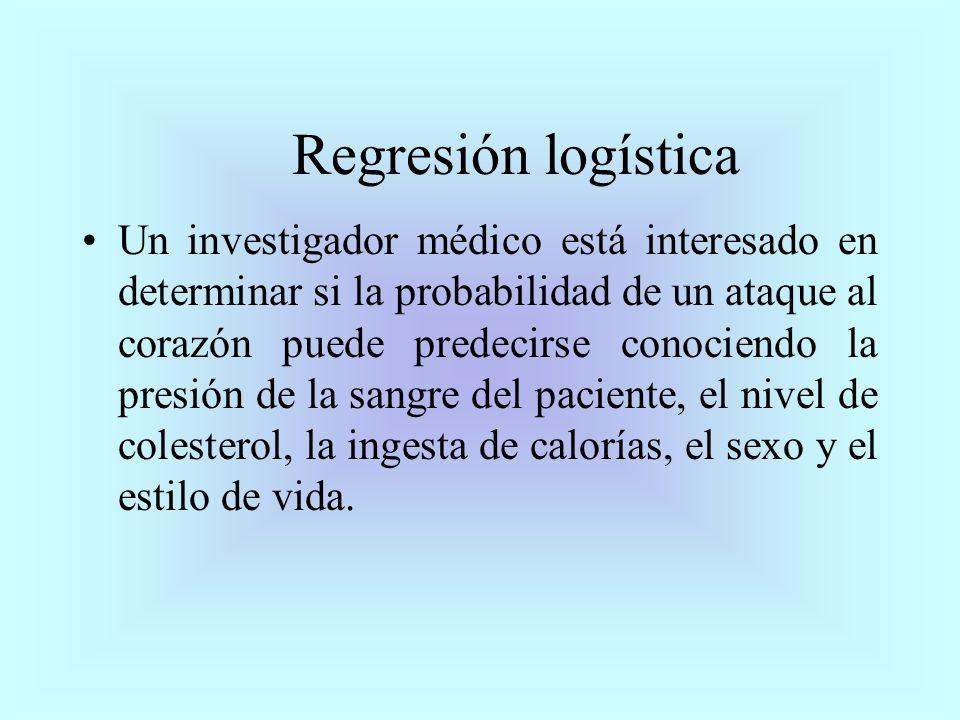 Ejemplo Mediante un modelo de regresión logística, determine la posible asociación entre el cáncer de vejiga, el consumo de café y la procedencia.