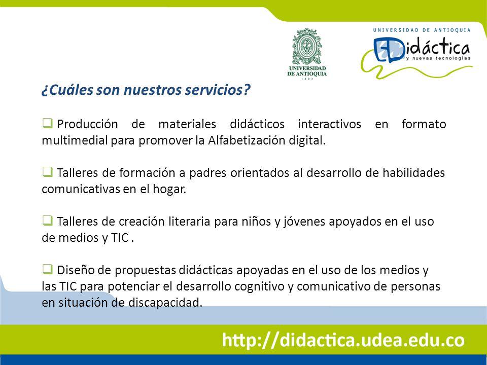 Producción de materiales didácticos interactivos en formato multimedial para promover la Alfabetización digital. Talleres de formación a padres orient