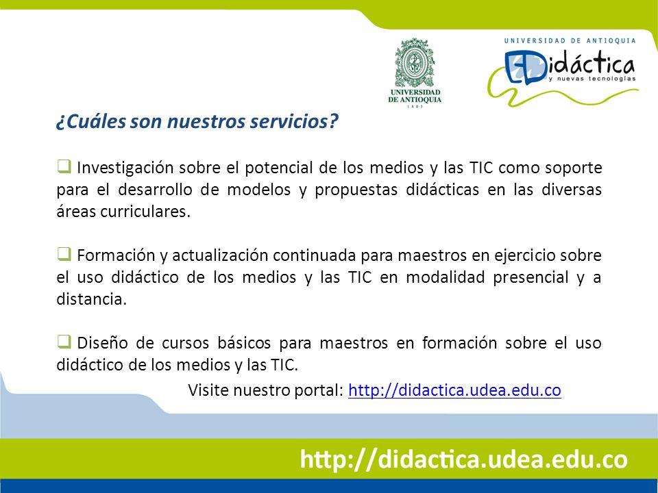 Asesorías y Consultorías a Instituciones Educativas, entidades públicas y privadas en la incorporación de los medios y las TIC a procesos educativos.