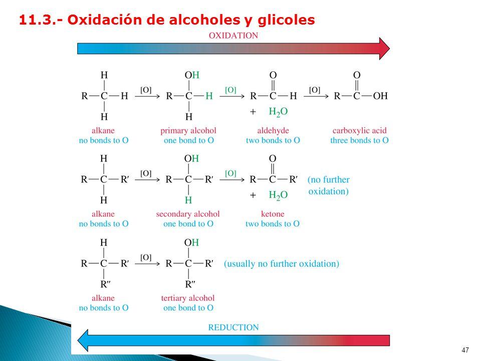 46 2.3.- Reacción con ácidos sulfónicos: Los tosilatos son buenos grupos salientes. Ejemplo :
