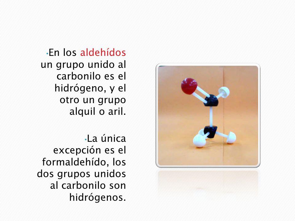 Los aldehídos y las cetonas son dos clases de derivados hidrocarbonados estrechamente relacionados, que contienen oxígeno. Cada uno de estos compuesto
