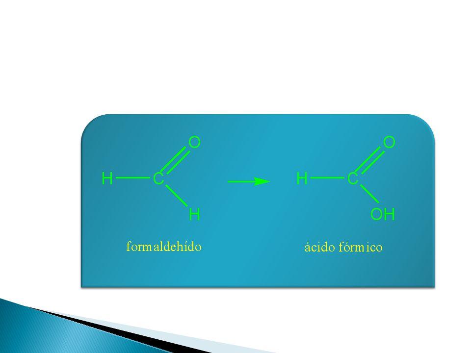A los aldehídos simples se les asigna nombres que corresponden a los ácidos orgánicos (RCOOH) que tienen el mismo número de átomos de carbono. Por eje