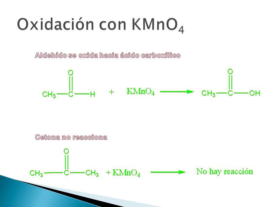 En los aldehídos y cetonas el estado de oxidación formal del carbono carbonílico es +1 y +2, respectivamente. En los ácidos carboxílicos y sus derivad