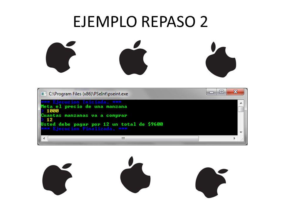 INSTRUCCIÓN MIENTRAS (7) Algoritmo(ejemplo2) variables: entera: b = 2, a = 4 INICIO MIENTRAS (a < 10) HAGA a = a + 2 b = (-2)*b FIN_MIENTRAS FIN Fin(ejemplo2) Archivos: Dfd: ejemplo2.dfd Pseint: ejemplo2