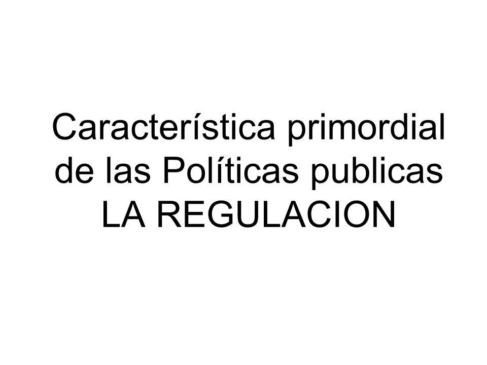 Política Publica PERSPECTIVA MACRO Rasgo gubernativo de todo régimen político.
