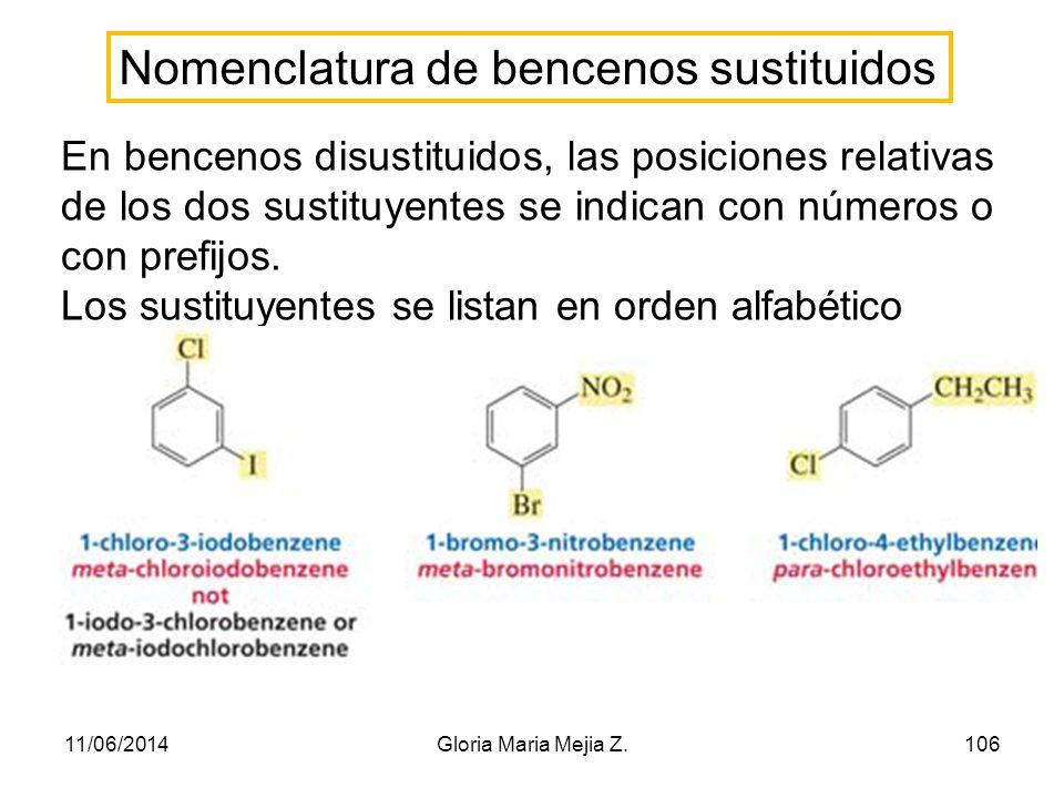 Alquilación de Friedel-Crafts del benceno 11/06/2014105Gloria Maria Mejia Z.