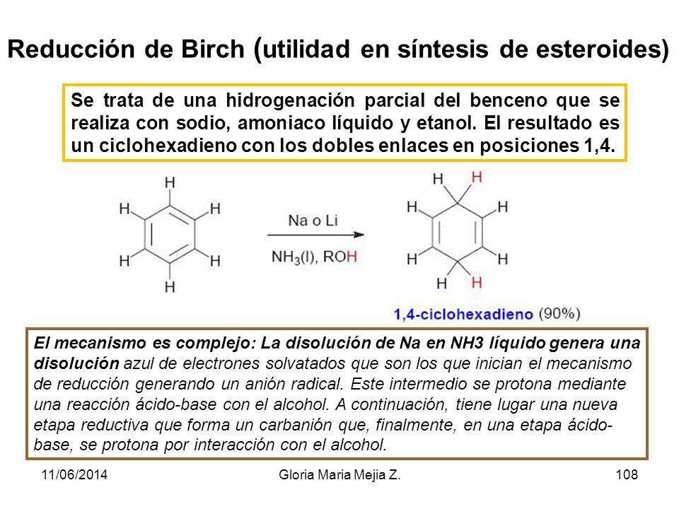 Reacciones de adición y oxidación : Hidrogenación de anillos aromáticos La hidrogenación catalítica de benceno para dar ciclohexano se lleva a cabo a