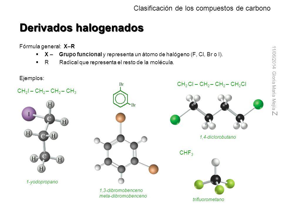 Compuestos nitrogenados Clasificación de los compuestos de carbono FamiliaGrupo FuncionalEjemplos Aminas – NH 2 – NH – – N –   CH 3 -NH 2 Metilamina E
