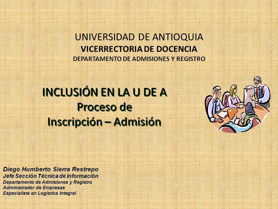 Acuerdos - Resoluciones -Acuerdo Académico 126 de febrero de 1998 y posteriormente con el Acuerdo 236 de octubre 30 de 2002 (en vigencia)asignó dos cupos adicionales por programa para aspirantes de comunidades indígenas.