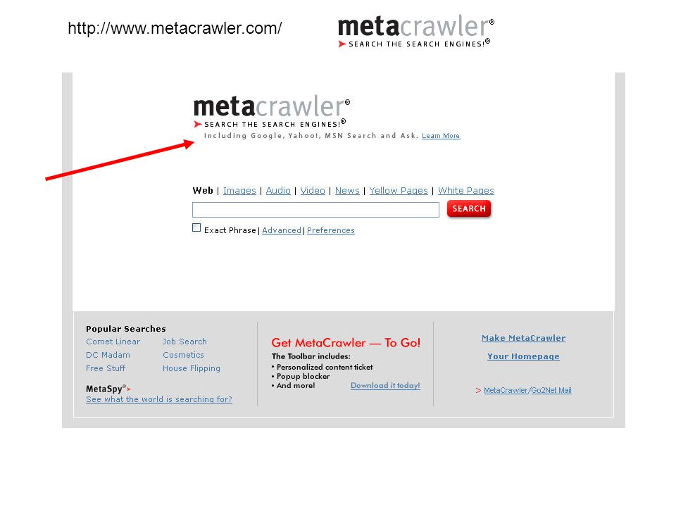 http://www.metacrawler.com/