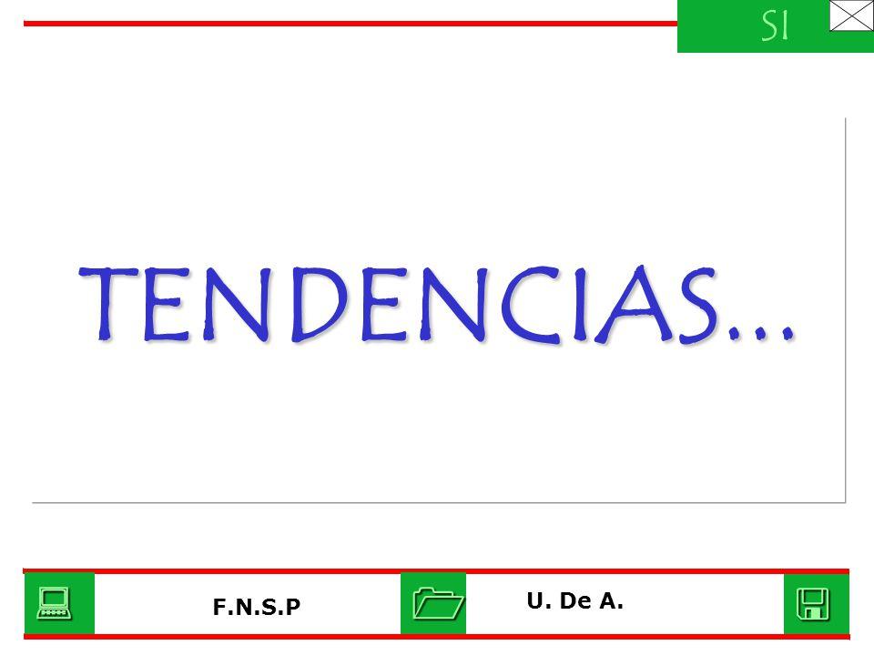 TENDENCIAS... SI U. De A. F.N.S.P