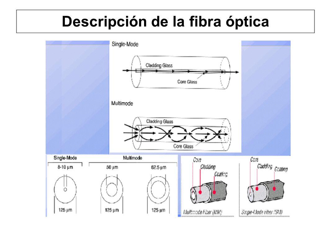Descripción de la fibra óptica