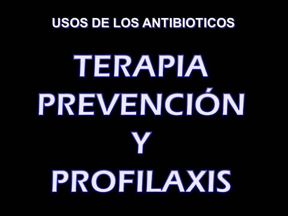 PACIENTES ALÉRGICOS LINCOSANIDOS: CLINDAMICINA MACROLIDOS: AZITROMICINA CLARITROMICINA