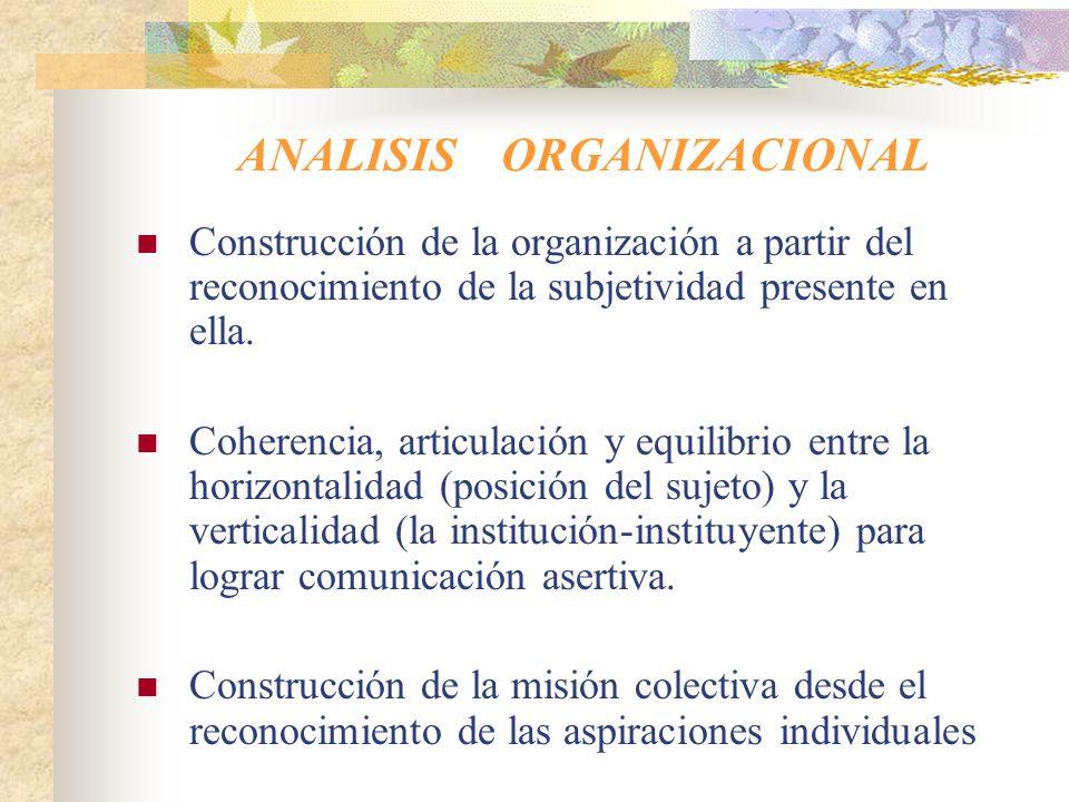 PSICOLOGIA SOCIAL Construcción de la subjetividad e identidad a través de procesos de intersubjetividad: el sujeto se construye en lo colectivo.