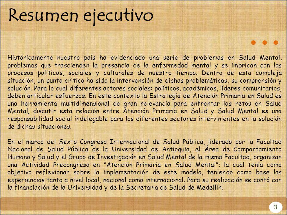 3. Descripción de la actividad 23 Asistencia Actividad previa al pre-Congreso Dra. Mabel Bertot