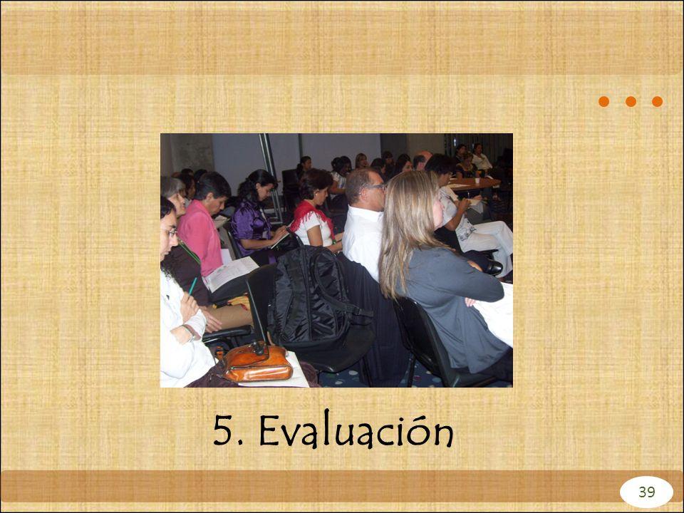 5. Evaluación 39