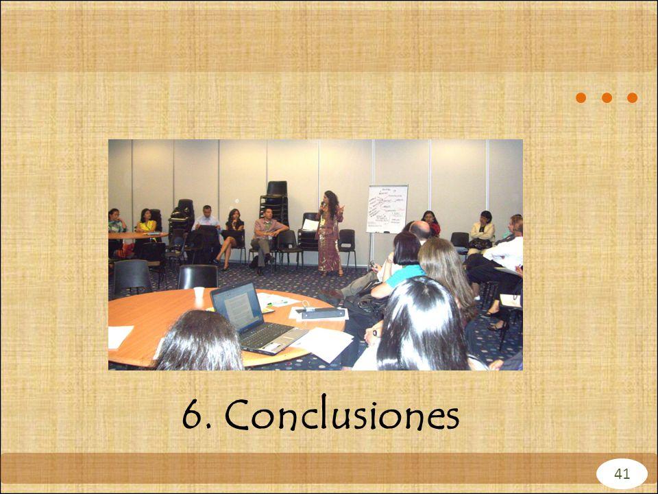 6. Conclusiones 41