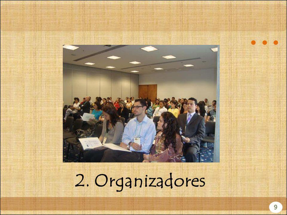 9 2. Organizadores