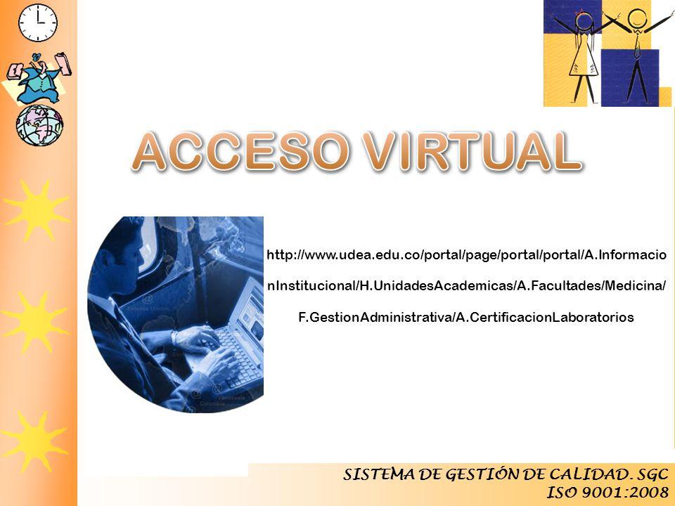 Laboratorios Empresariales Competir y Triunfar SISTEMA DE GESTIÓN DE CALIDAD. SGC ISO 9001:2008