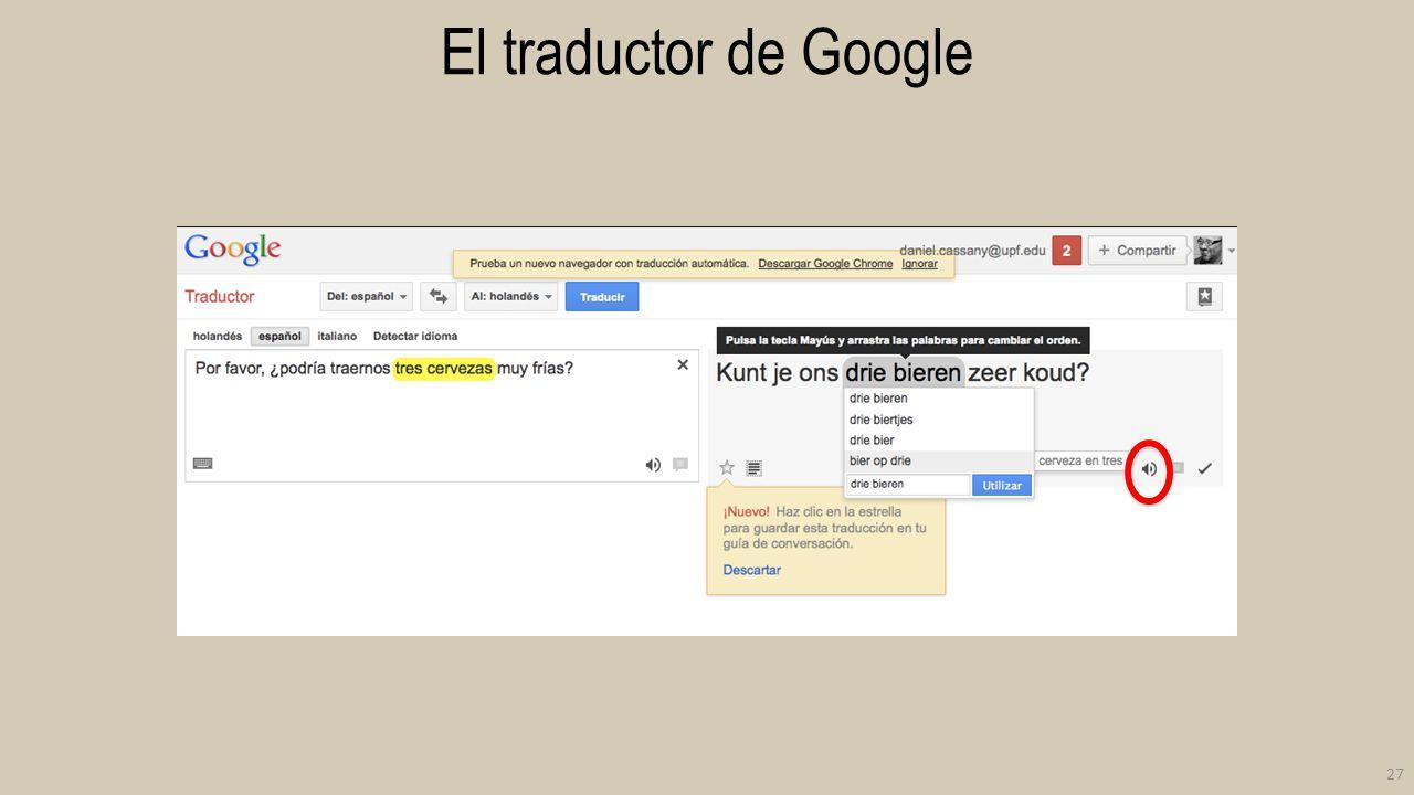 El traductor de Google 27