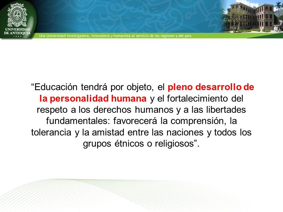 formar en derechos y deberes, defender y difundir los derechos humanosconvivencia pacífica En Colombia, la Constitución Política de 1991, en el artículo, expresa la obligatoriedad de todo proceso educativo de formar en derechos y deberes, defender y difundir los derechos humanos como fundamento de la convivencia pacífica