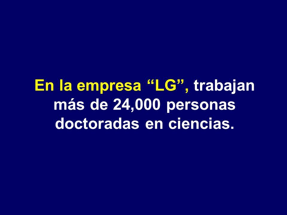 En latinoamérica, ninguna de las empresas más grandes del continente, gastó ni la décima parte de esa cantidad en investigación.
