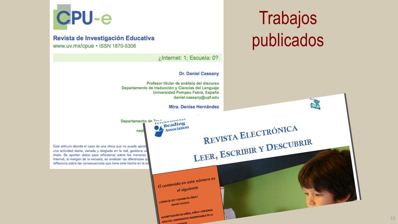 Orientación Ámbitos : pedagogía, política educativa, TIC.