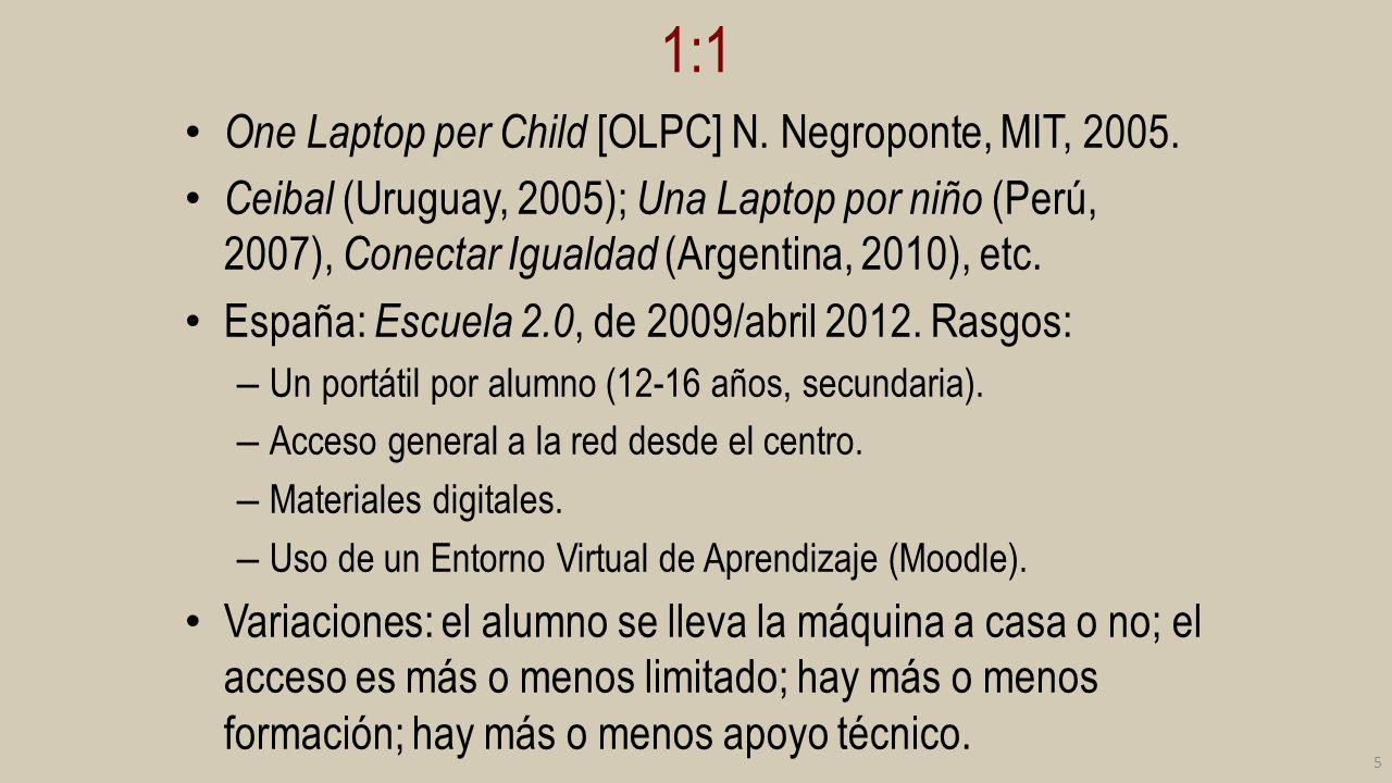 1:1 en Cataluña implantación a gran escala 6