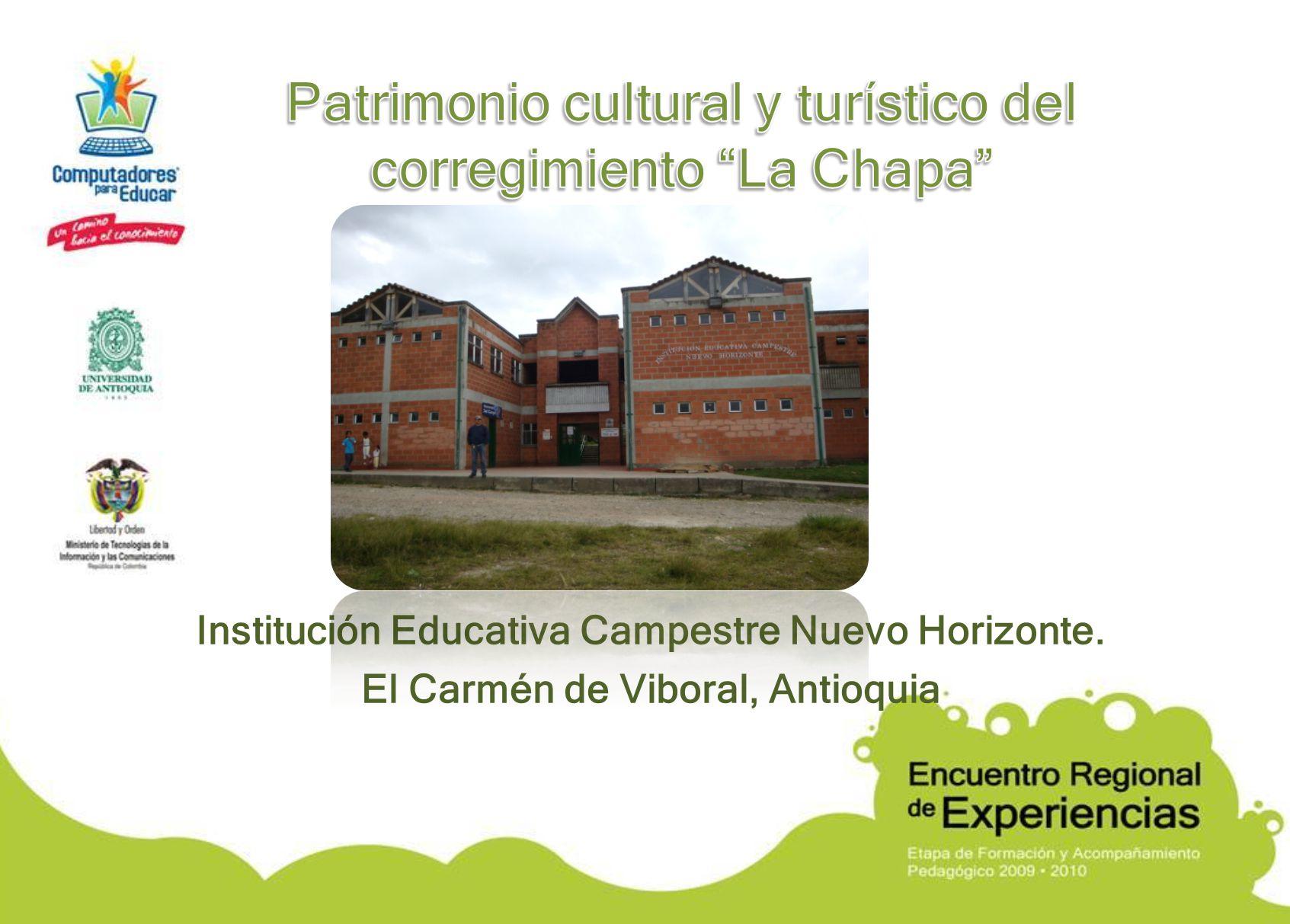 Institución Educativa Campestre Nuevo Horizonte. El Carmén de Viboral, Antioquia