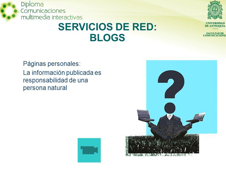 SERVICIOS DE RED: RSS RSS es una forma fácil de mantenerse al día en forma automática del contenido de los sitios web de su interés.