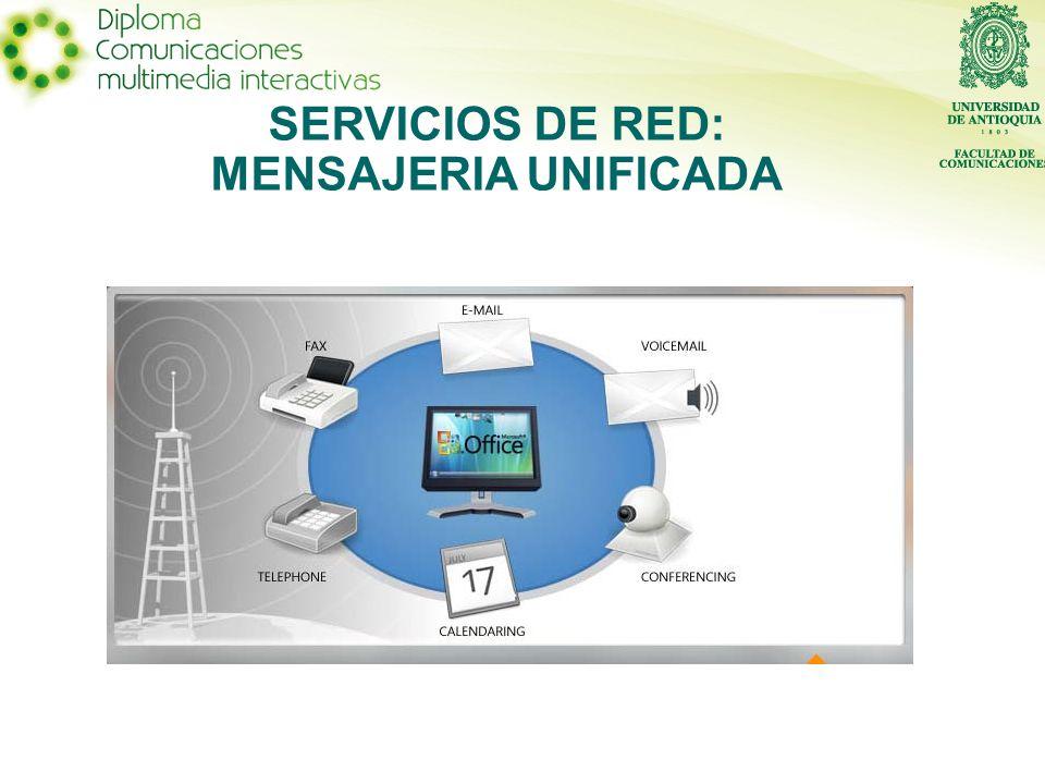 SERVICIOS DE RED: MENSAJERIA UNIFICADA