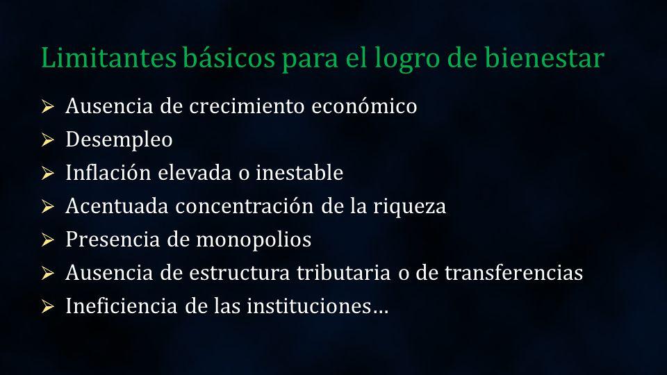 Política macroeconómica Consiste en las medidas gubernamentales destinadas a influir en la economía en su conjunto.