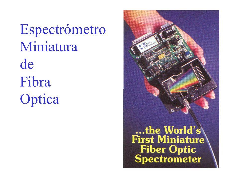 Espectrómetro Miniatura de Fibra Optica
