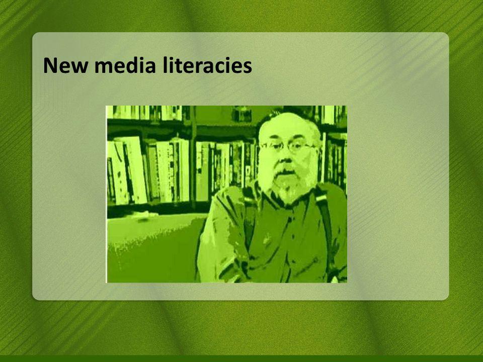 New media literacies