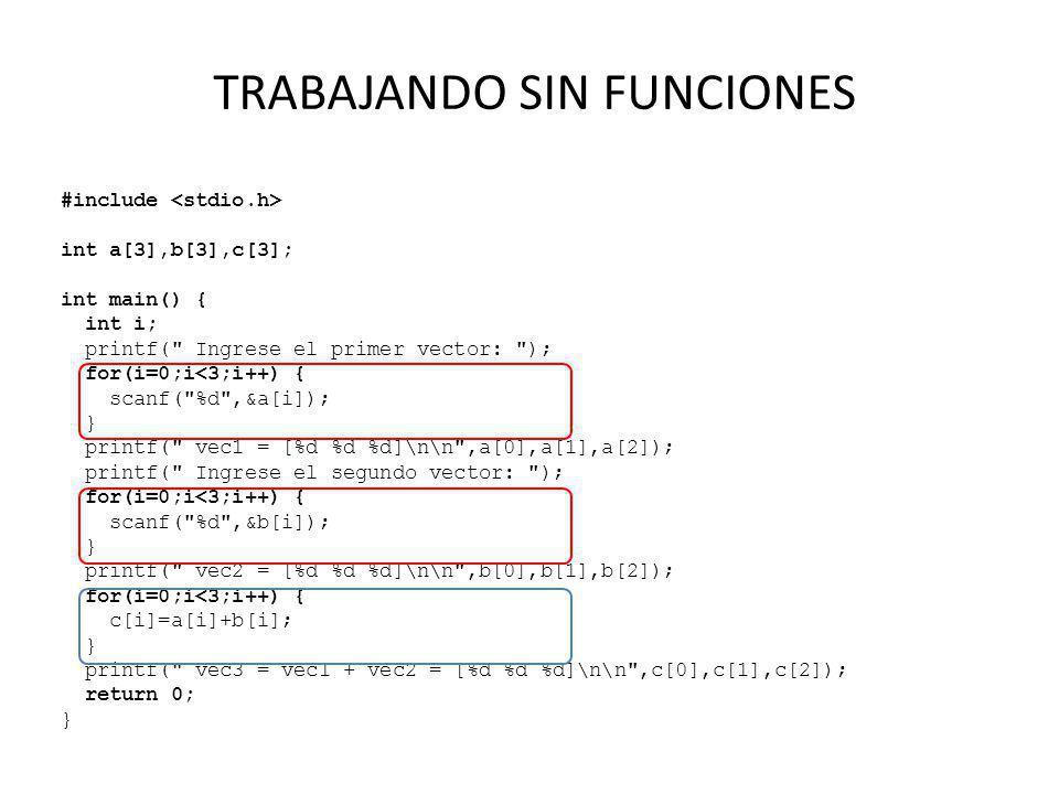 #include int a[3],b[3],c[3]; int main() { int i; printf(