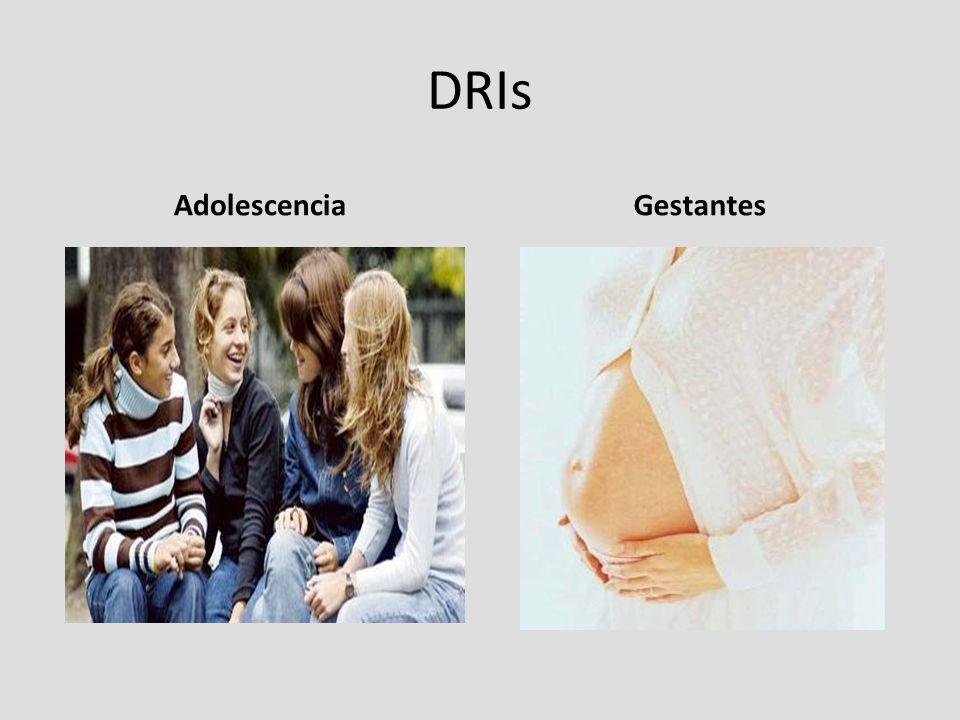 DRIs AdolescenciaGestantes